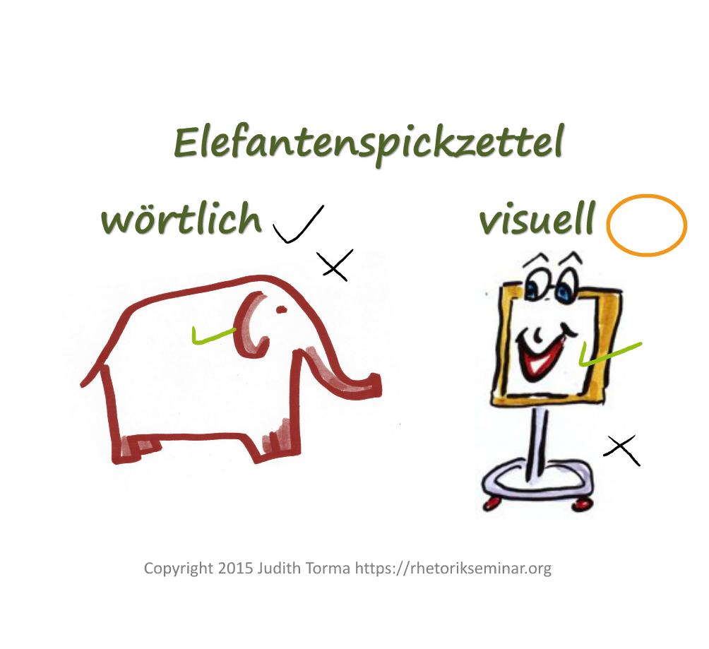 Elefantenspickzettel