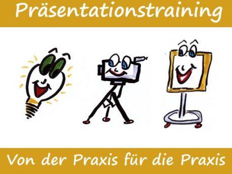Webseite-Präsentationstraining