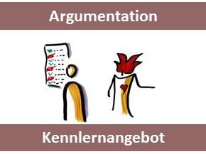 edudip-titelbild Argumentation - Kennlernangebote Argumentation