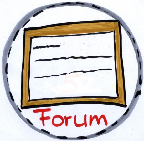 Forum-badge