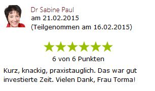 sabine Paul - tipps